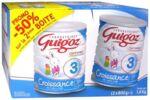 Acheter GUIGOZ LAIT CROISSANCE 3 2X800GR à Saint Denis