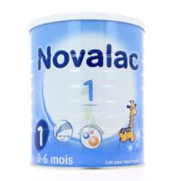 NOVALAC LAIT 1 , 0-6 mois BOITE 800G à Saint Denis