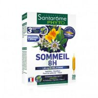 Santarome Bio Sommeil 8H Solution buvable 20 Ampoules/10ml à Saint Denis