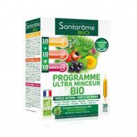 Santarome Bio Programme ultra minceur Solution buvable 30 Ampoules/10ml à Saint Denis
