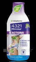 4321 Minceur 4 Actions Solution buvable Fl/280ml à Saint Denis