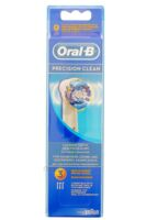 BROSSETTE DE RECHANGE ORAL-B PRECISION CLEAN x 3 à Saint Denis