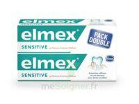 ELMEX SENSITIVE DENTIFRICE, tube 75 ml, pack 2 à Saint Denis