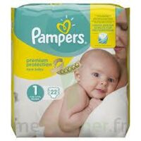 PAMPERS NEW BABY PREMIUM PROTECTION, taille 1, 2 kg à 5 kg, sac 22 à Saint Denis