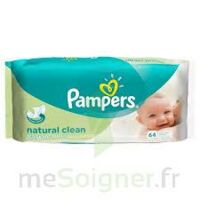 PAMPERS LINGETTES natural clean à Saint Denis