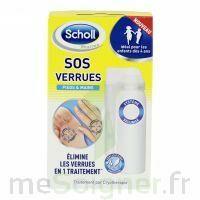 Scholl SOS Verrues traitement pieds et mains à Saint Denis