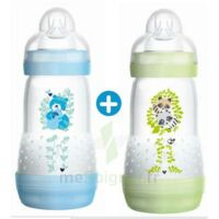 MAM BIBERON EASY START anti-colique 260 ml lot de 2_ BLEU & VERT à Saint Denis