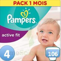 PAMPERS ACTIV FIT T4 106 UNITES à Saint Denis