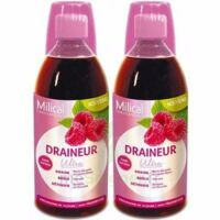 MILICAL DRAINEUR ULTRA Solution buvable framboise 2*500ml à Saint Denis