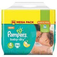 Pampers Baby Dry T4 - 8 à 16kg Megapack à Saint Denis