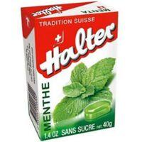 HALTER Bonbons sans sucre menthe à Saint Denis