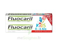 Fluocaril Kids Gel dentifrice Fraise 0/6ans 2*50ml à Saint Denis