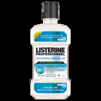 Listerine Professionnel Bain bouche traitement sensibilité 500ml à Saint Denis