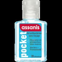 Assanis Pocket Gel antibactérien mains 20ml à Saint Denis