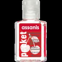 Assanis Pocket Parfumés Gel antibactérien mains cerise 20ml à Saint Denis