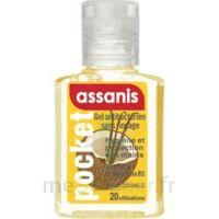 Assanis Pocket Parfumés Gel antibactérien mains Coco Vanille 20ml à Saint Denis
