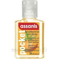 Assanis Pocket Parfumés Gel antibactérien mains Mangue 20ml à Saint Denis