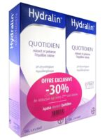 Hydralin Quotidien Gel lavant usage intime 2*200ml à Saint Denis