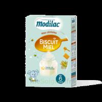 Modilac Céréales Farine Biscuit miel à partir de 6 mois B/300g à Saint Denis