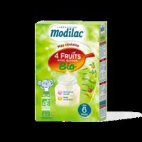 Modilac Céréales Farine 4 Fruits quinoa bio à partir de 6 mois B/230g à Saint Denis
