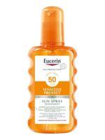Eucerin Sun Sensitive Protect SPF50 Spray transparent corps 200ml à Saint Denis